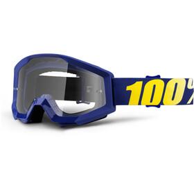 100% Strata Goggles blue